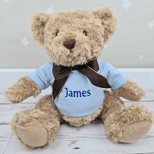 Traditional Crumble Bear 28cm - Blue