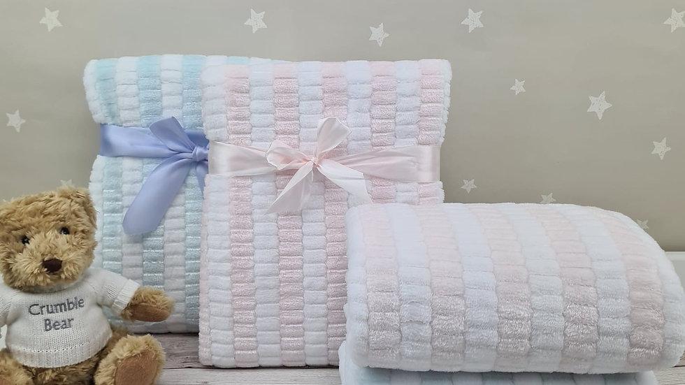 Stripe Jacquard Blanket