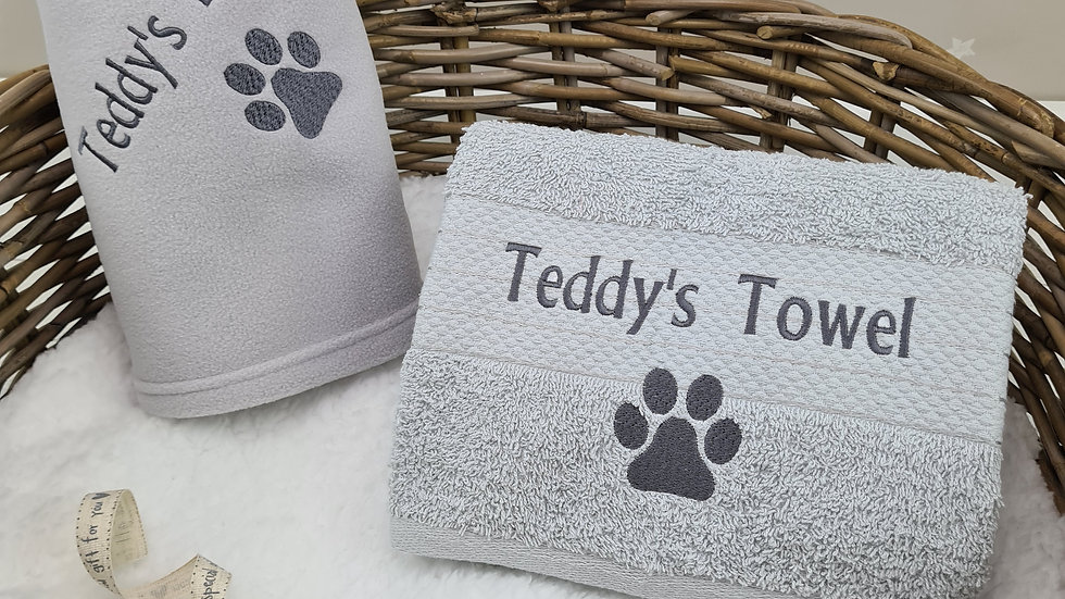 Pet Blanket & Towel Set - Small