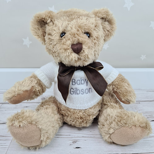 Traditional Crumble Bear 28cm - White