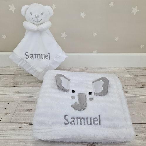 Personalised 3D Elephant Blanket & Comforter
