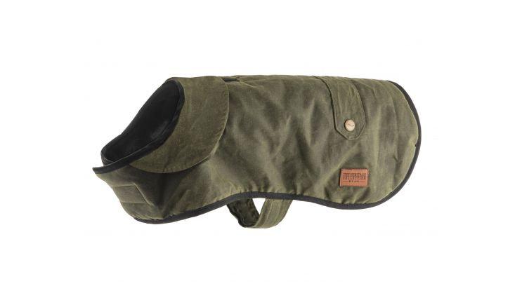 Heritage Green Wax Coat