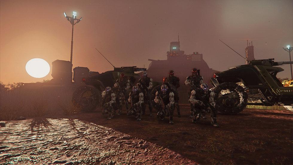 star citizen multicrew gameplay taktische organisation