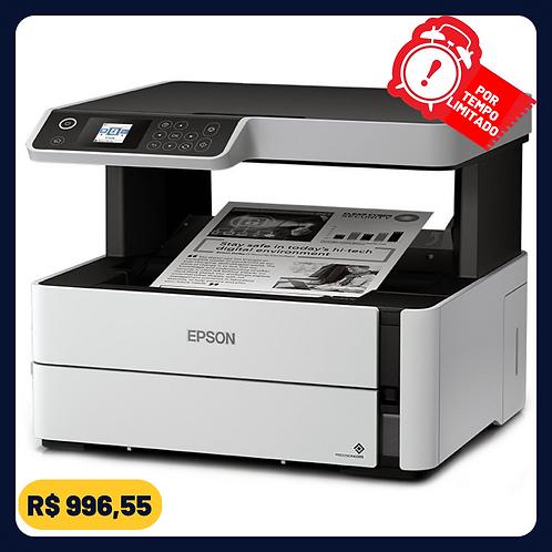 Impressora Multifuncional Epson EcoTank M2140 - Tanque de Tinta Monocromática US