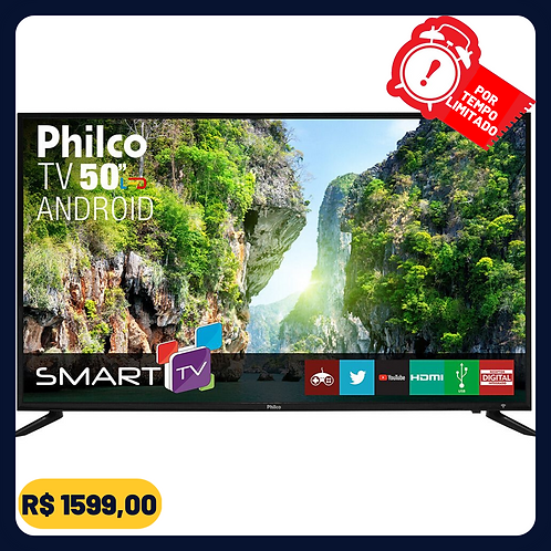 "Smart TV LED 50"" Philco PTV50D60SA FULL HD Conversor Digital Integrado 2 HDMI 2"