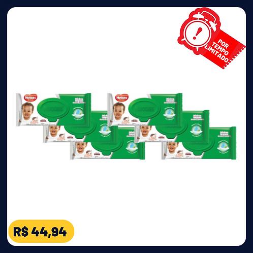 Lenços Umedecidos Huggies Classic - 6 Pacotes com 48 unidades cada