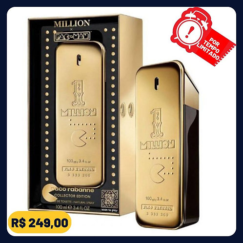 1 Million Pac-Man Collector Paco Rabanne Perfume Masculino - Eau de Toilette 100
