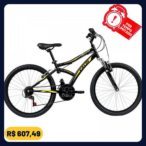 Bicicleta Caloi Max Front - Aro 24 - Freio V-Brake - 21 Marchas
