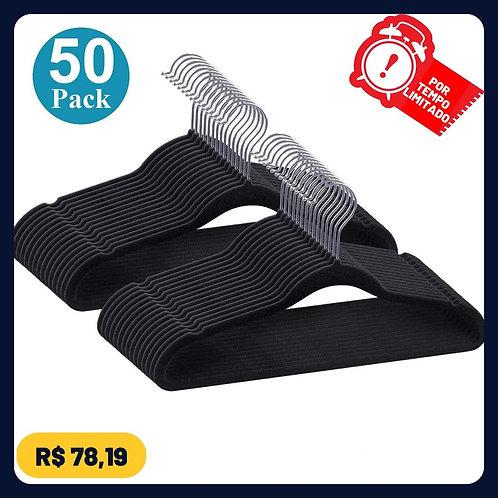 Kit Cabides De Veludo Slim Ultra Finos Antideslizante 50 Uni