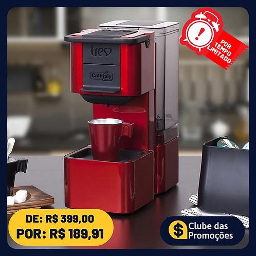 Cafeteira Expresso TRES S27 Pop Plus de Cápsula - Vermelha 15 Bar 1 Xícara 110V