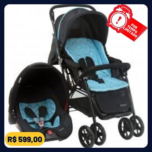 Carrinho de Bebê com Bebê Conforto Voyage