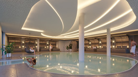 Wodnar Hotel Majestic  Schwimmbad  Monsi