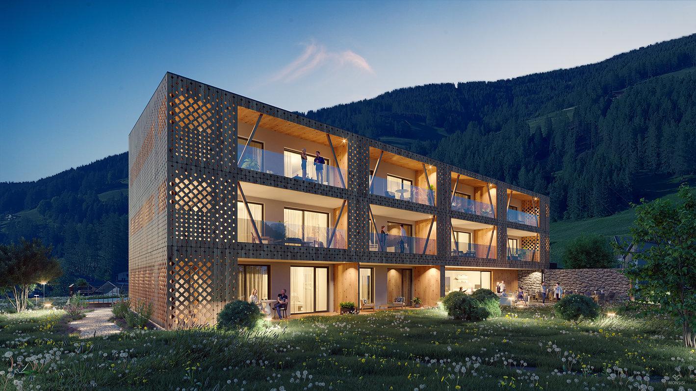 hotel gamz monsisi 3d visualisierung aus