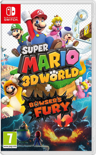UPDATE 1.1 Super Mario 3D World + Bowser's Fury