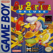 Burger Time Deluxe GameBoy