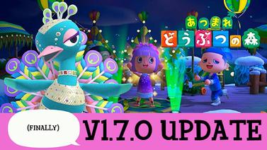 Animal Crossing: New Horizons Update 1.7