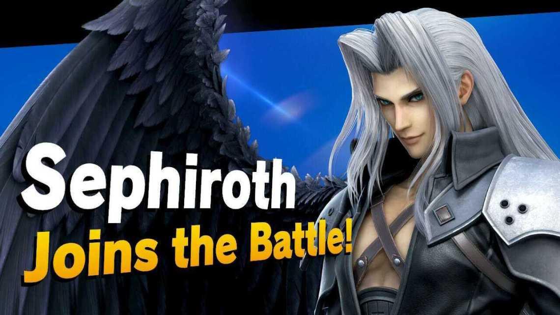 Super Smash Bros. Ultimate Sephiroth DLC