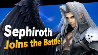 Super Smash Bros. Ultimate Sephiroth + Mii Costumes DLC