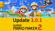 Super Mario Maker 2 UPDATE 3.0.1