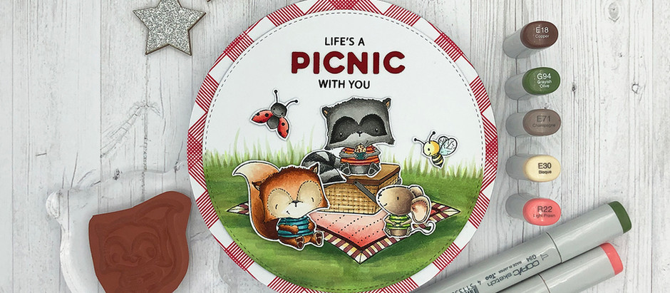 Purple Onion Designs | Life is a PICNIC with you