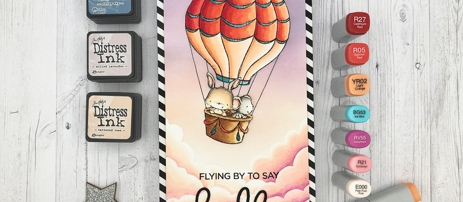 Purple Onion Designs | Flying by to say HELLO