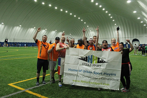 Summer Indoor Coed Flag Football in Manchester, NH | Wednesday Nights (8