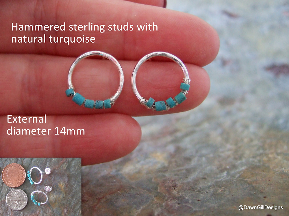 1-HoopStuds_Turquoise