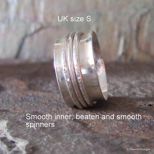 Spinner ring, size S
