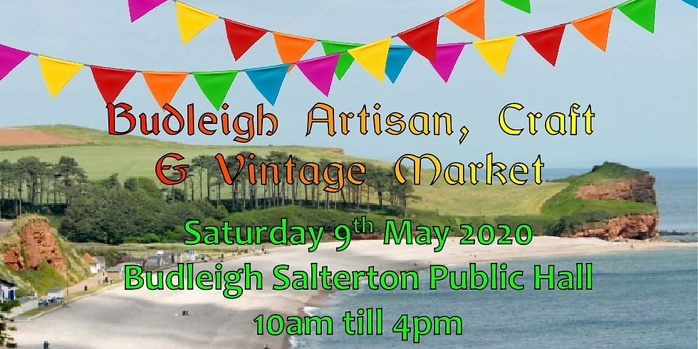 Budleigh Artisan and Vintage Market CANCELLED