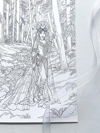 Artemis - Giclée Print