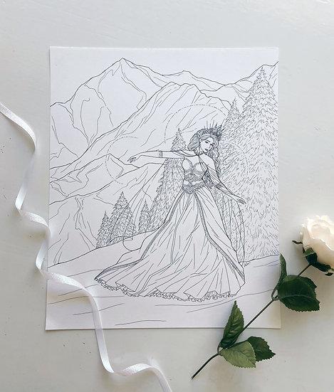 Skadi - Giclée Print