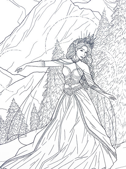Skadi - Original Illustration