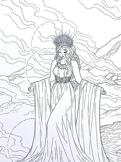 Pele - Original Illustration