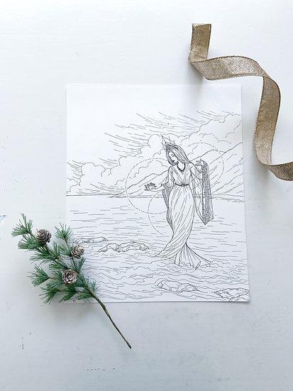 Guan Yin - Giclée Print