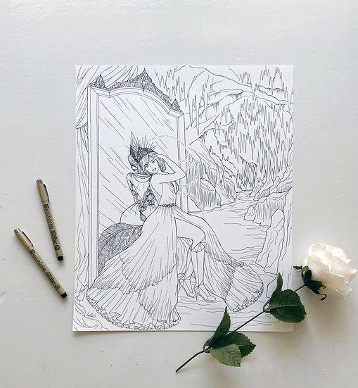 Hel - Giclée Print