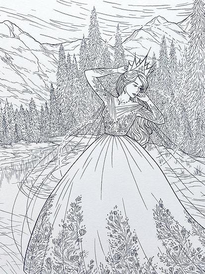 Marena - Original Illustration
