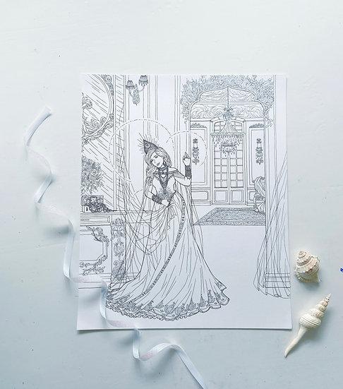 Lakshmi - Giclée Print