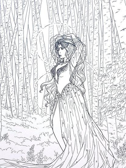 Gaia - Original Illustration