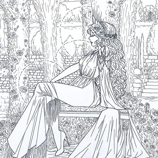 Aphrodite - Original Illustration