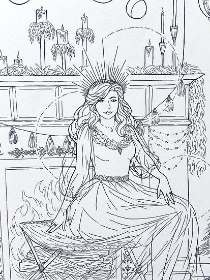 Frigg - Original Illustration