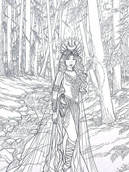 Artemis - Original Illustration