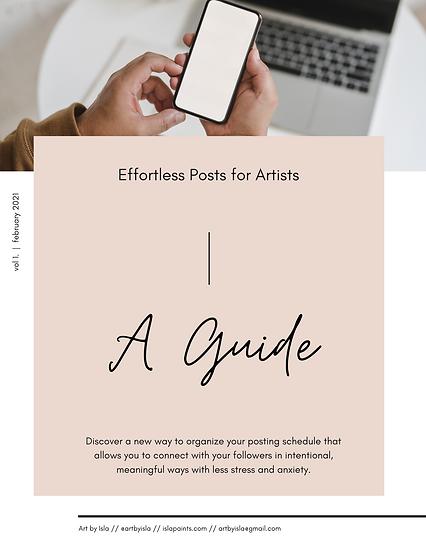 Full Guide: Effortless Posts for Artists