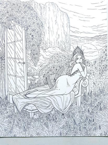 Ostara - Original Illustration