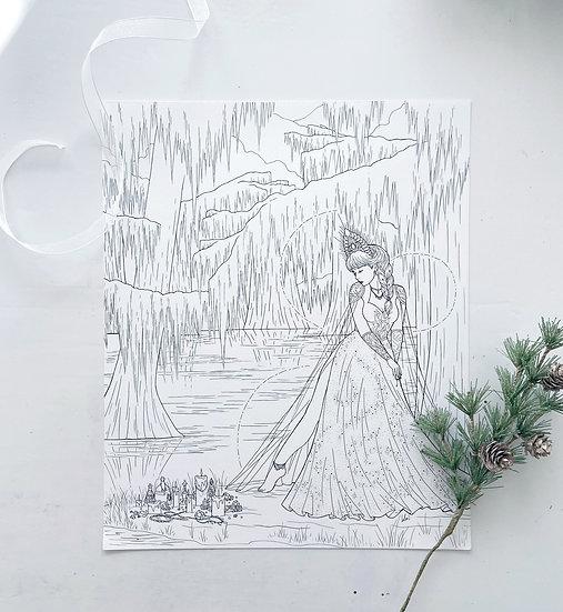 Hestia - Giclée Print