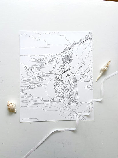 Yemonja - Giclée Print