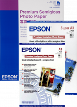 Epson Papel Premium SemiGlossy Photo 210mm. x 10m. 250g.