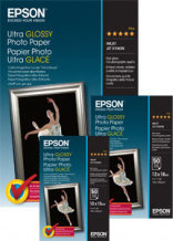Epson Papel Ultra Glossy Photo Paper 10x15cm (20hojas)