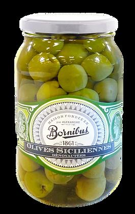 Olives Siciliennes dénoyautées