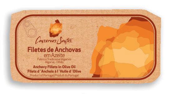 Filets d'Anchois à l'Huile d'Olive