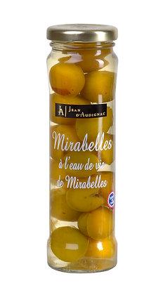 Mirabelles à l'eau de vie de mirabelle